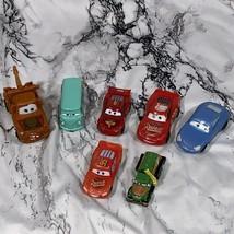 Lot Of 7 Plastic Pixar Cars Used - $10.69