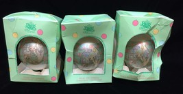 Precious Moments Ornaments You're As Pretty As A Christmas Tree 1994 Lot of 3 - $9.89