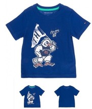 tommy hifiger  Baby 85th  GO FOR IT   Navy Shirt   Size 4 T - $12.86