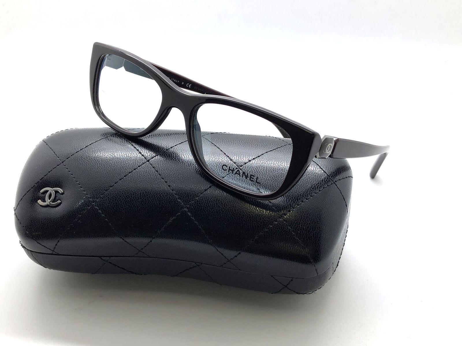 b5698cdc3041 Chanel Gloss Dark Burgundy Frame Authentic and 33 similar items