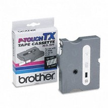"""Brother OEM TX1351 White on Clear Tape (1/2"""") - $47.48"""