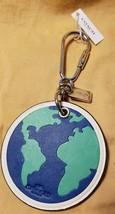 Coach GLOBE WORLD EARTH Novelty Keychain F54912 NWT NEW $70 Gift Key Chain - $21.49
