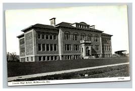 Vintage Early 1900's Postcard Lincoln High School McMinnville Oregon UNP... - $15.81