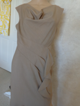 Calvin Klein Tan Dress Size 8 (#2950) - $30.99