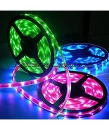 OCTANE LIGHTING 5M 5050 Smd 150 Led Waterproof Light Bulb Strip Ir 24Key... - $9.85