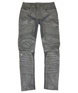 RLX by Ralph Lauren Women Leather Pants - Size S - Dark Grey - $395.95