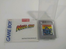 Mega Man: Dr. Wily's Revenge (Nintendo Game Boy, 1991) Genuine - $93.49