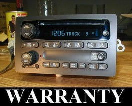 UNLOCKED 2003-07 GMC SIERRA & YUKON CD PLAYER RADIO Programming Included - $201.61