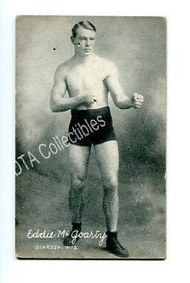 Primary image for EDDIE MCGOARTY-BOXING EXHIBIT CARD-1921 FR/G