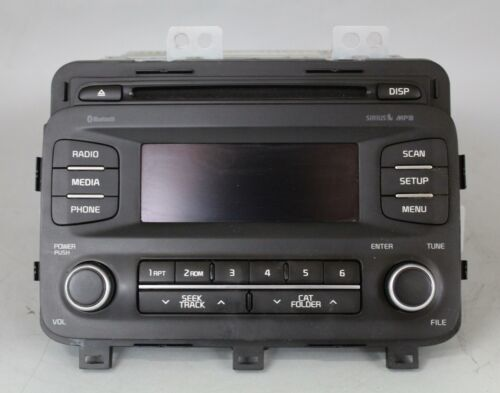 Primary image for 14 15 KIA OPTIMA AM/FM RADIO CD PLAYER RECEIVER OEM