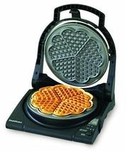 Electric Baking Waffle Iron Molder Maker Baker Nonstick 5 Heart Shaped C... - €92,79 EUR