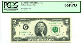 $2 DOLLARS 1976 STAR NOTE FEDERAL RESERVE ATLANTA F 1935 F * LUCKY MONEY... - $315.00