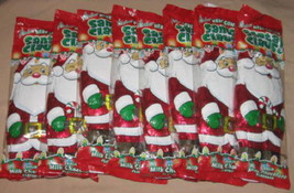 Solid Milk Chocolate Foil Wrapped Santa Claus by Palmer Lot of 8 Christmas - $4.95