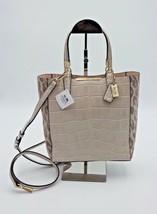 Coach Madison Ocelot Croc Leather Bonded Mini Tote Crossbody Bag New 28301 - $301.78 CAD