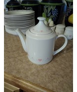Corelle Forever Yours Tall Tea Pot 5 1/4 inch - 4 Cup - $35.00
