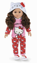"""My Life As Hello Kitty 18"""" Poseable Doll Brunette Hair New Release Htf - $98.99"""