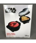 STAR WARS DISNEY DARTH VADER WAFFLE MAKER NEW IN BOX - $20.34