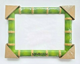 Disney Store Lilo & Stitch Bamboo Style Lithograph Picture Frame 8x10 Photo 2003 - $27.99