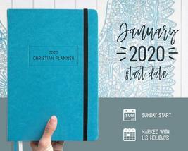 "Christian Planner 2020 Planner, Bible Journal, and Gratitude Journal | 7""x10"" La image 5"