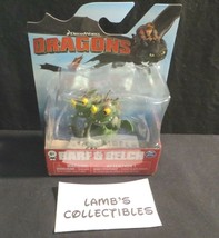 Barf & Belch mini sitting up Dreamworks Dragons Spin Master How to train Dragon - $45.31