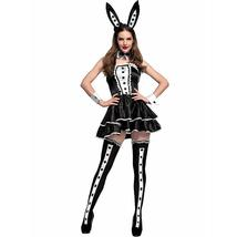 Alice in Wonderland Rabbit Deluxe Costume Cosplay Outfit Set image 4