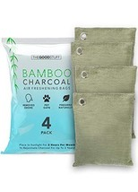 Bamboo Charcoal Air Freshening Bags: Odor Eliminator to Naturally Freshen Your R