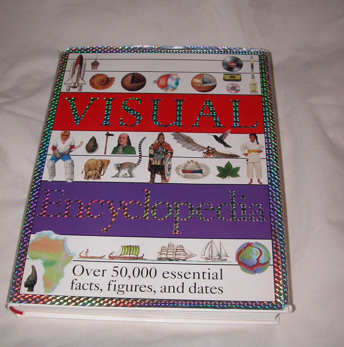 Primary image for Visual Encyclopedia Dorling Kindersley Publishing 50000 Facts Figures Dates 1995