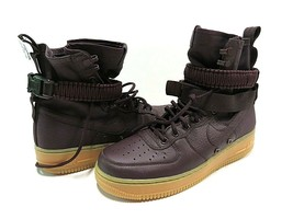 NIB Nike SF Air Force 1 Deep Burgundy Casual Athletic Summit Shoes Men's... - $148.45