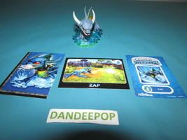 Skylanders First Edition Zap Figure with Card E4116  2011  Activision vi... - $7.67