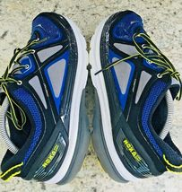 HOKA One One Constant Blue Yellow & Black running Shoes Men's SIZE 10 image 3