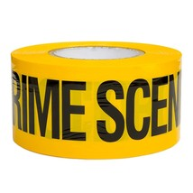 "CRIME SCENE DO NOT CROSS TAPE 50 FEET 3"" WIDE CSI FBI POLICE TAPE - LOT ... - $55.87 CAD"