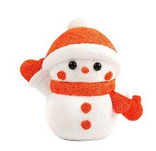 Beads Mud Clay Dolls for Kids or Baby DIY Colorful Toy(Snowman) image 2