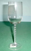Kate Spade Lenox Plum Island Wine Glass Crystal 8-oz. Segmented Stem New - $17.90