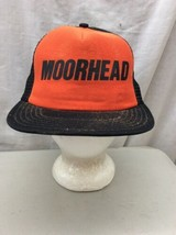 trucker hat baseball cap Vintage Snapback Mesh Moorhead Retro Unique Mad... - $39.99