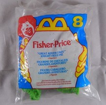 McDonald's Fisher Price Great Adventures Knight & Dragon Totally Toy Hol... - $5.47