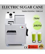 Electric Stainless Steel Juicer Sugar Cane Ginger Press Juicer Juice Mac... - $989.99