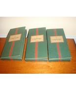 Longaberger Pewter Santa Keys In Box Set Of 3 - $38.99