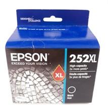 Genuine Epson 252XL Black High Capacity Ink Cartridge Expired 01/2020 - $22.99