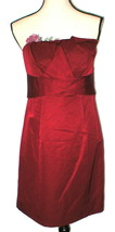 New Womens Party The Limited Dress Dark Red Strapless 8 Date Dinner Wedd... - $37.95