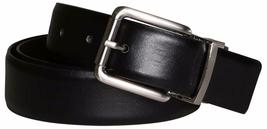 New Calvin Klein Men's Reversible Smooth Leather 32mm Belt Black & Brown 7545696 image 5