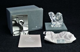Steuben Glass American Eagle Signed paperweight - $261.25