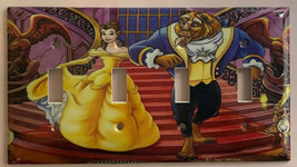 Beauty and the beast Light Switch Outlet duplex wall Cover Plate Home Decor image 5