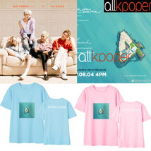 KPOP Winner Tshirt Album T-shirt Casual Tee Tops Our twenty for - $12.07