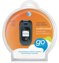 ZTE Z222 Go Phone (AT&T) Prepaid Cell Phone - $49.99