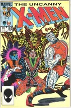 The Uncanny X-Men Comic Book #192 Marvel Comics 1985 VERY FINE- NEW UNREAD - $4.50