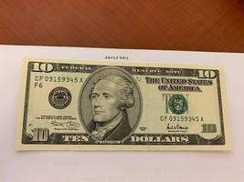 United States Hamilton $10 uncirc. banknote 2001 #3 - $24.95