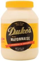 Duke's Mayonnaise, 32-Ounce Jars Pack of 4