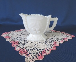 Westmoreland, Footed Creamer, Cherries, Milk Glass - $9.00