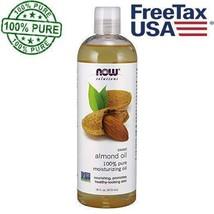 Now Foods Sweet Almond Oil - 16 oz, Moisturizing Oil Healthy Skin - $14.80