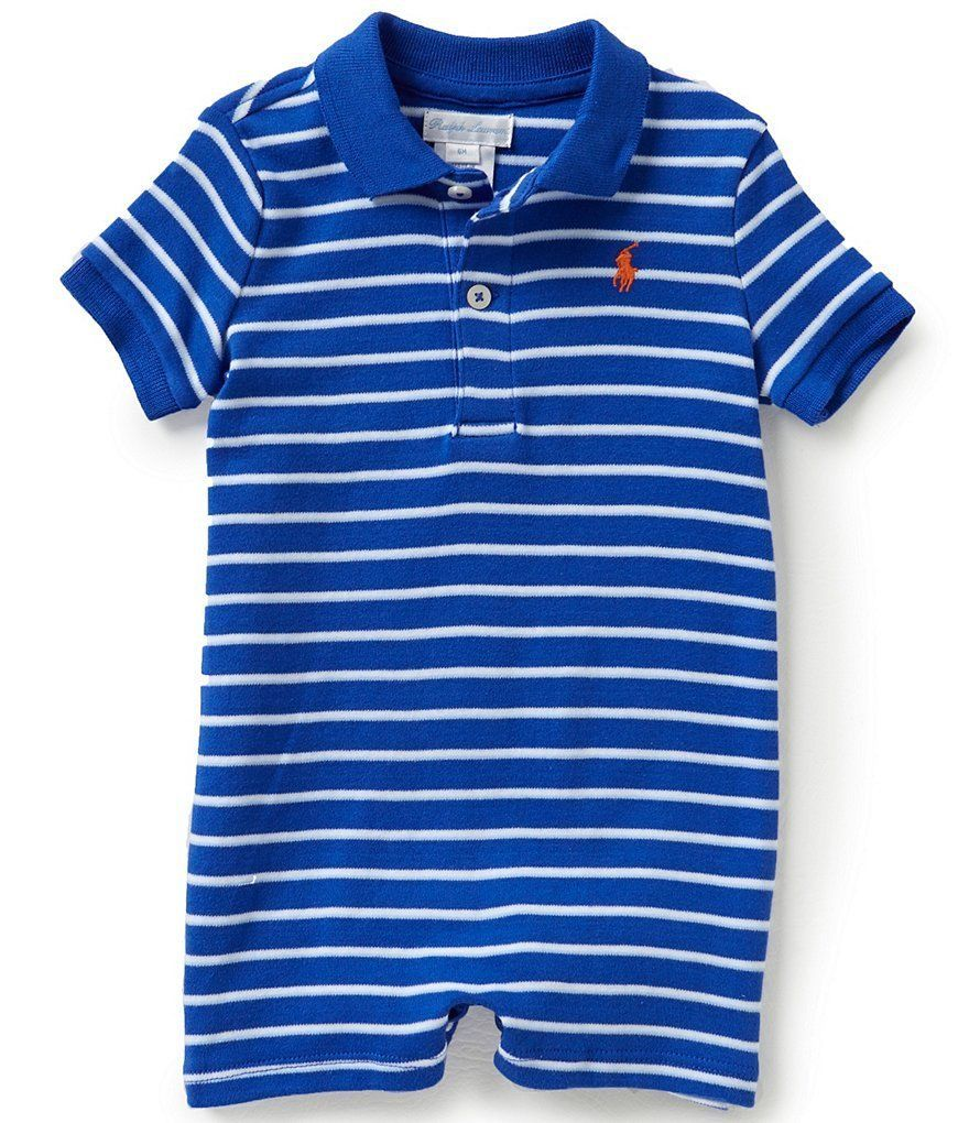 1c7db55b5 Ralph Lauren Baby Boys Striped Cotton Polo and 50 similar items. S l1600